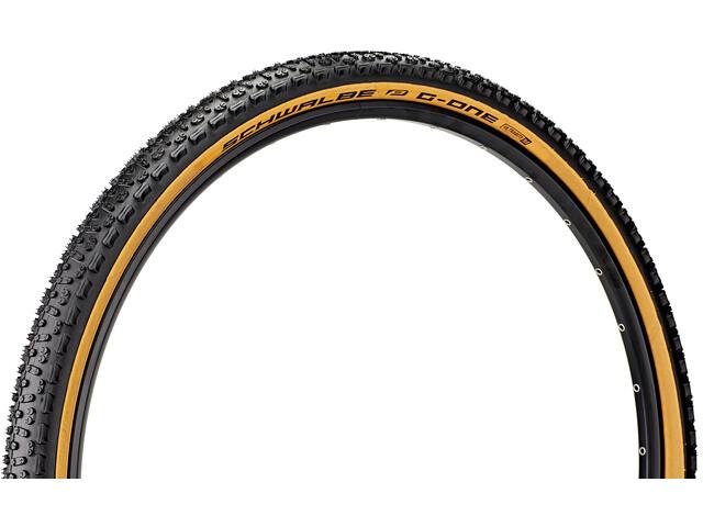 "SCHWALBE G-One Ultrabite Performance Folding Tyre 28x2.00"" RaceGuard E-25 Addix classic skin"